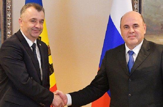 Премьер-министр Молдавии Ион Кику провёл беседу с премьером России Михаилом Мишустиным