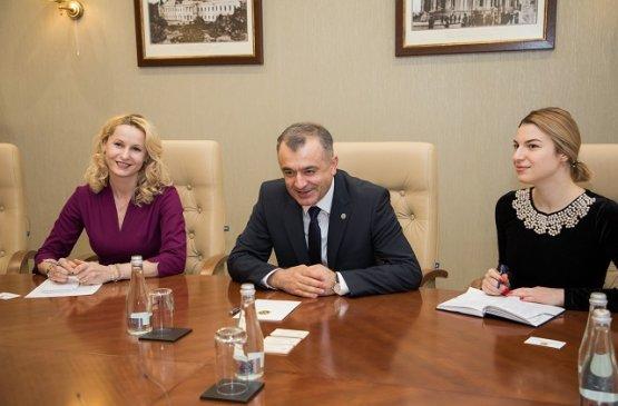 Глава правительства Молдовы провёл встречу с послом Армении Дживаном Мовсисяном