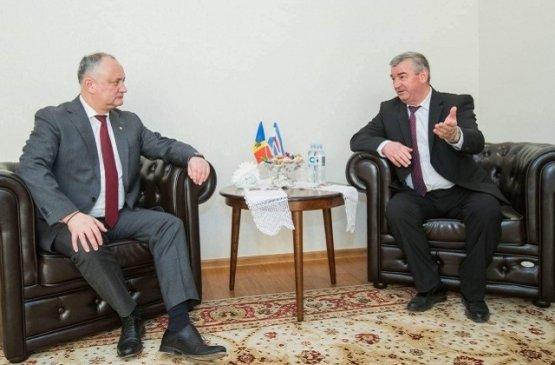 Президент Молдовы побывал с визитом в Дубоссарском районе