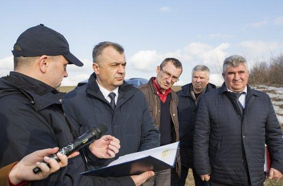 Премьер Молдовы посетил село Волинтирь в районе Штефан-Водэ