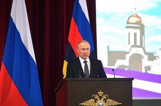 Президент России принял участие в заседании коллегии МВД