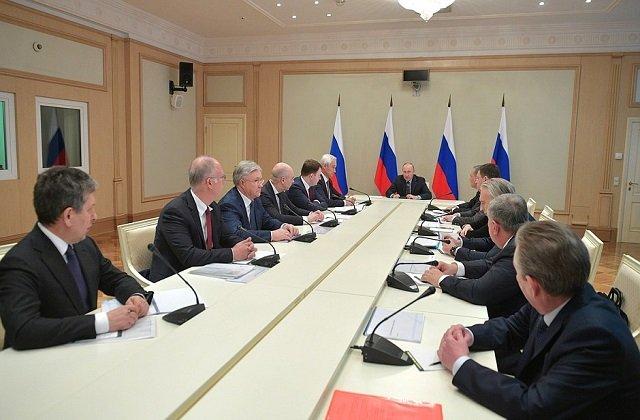 Глава РФ провёл совещание по наиболее актуальным международным проблемам