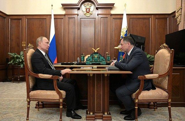 Владимир Путин принял вице-премьера Марата Хуснуллина