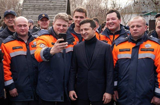 Со строительством дорог в Полтавской области ознакомился Владимир Зеленский