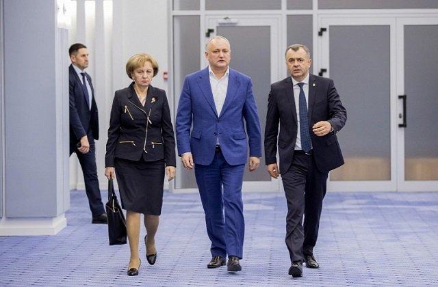 Президент Молдовы провёл заседание правительства по проблеме коронавируса