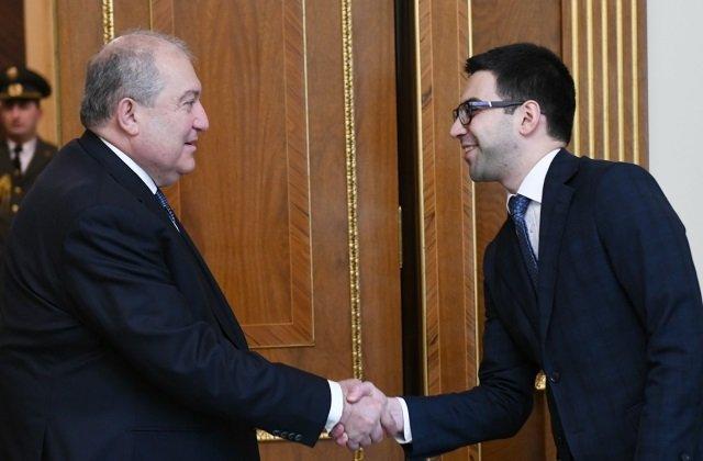 Президент Армении обсудил с министром юстиции правовые аспекты проводимых реформ