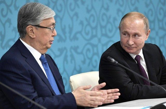 Лидеры Казахстана и России договорились совместно противостоять общемировой угрозе