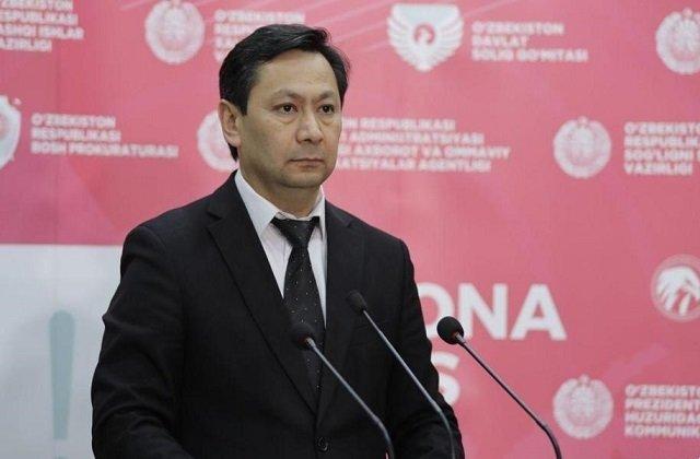 В Ташкенте Бахром Алматов провёл онлайн-брифинг