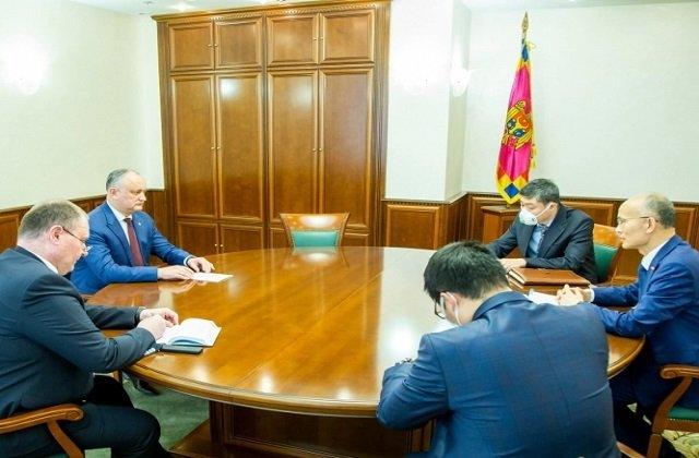 Президент Молдавии провёл встречу с послом Республики Китая