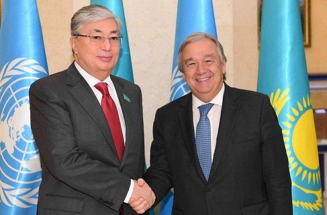 Казахстан поддержал усилия ООН в борьбе с пандемией