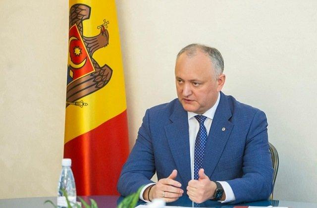 Президент Молдовы встретился с руководителями крупных торговых точек