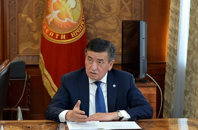 Президент Киргизии отправил телеграмму соболезнования председателю Китая