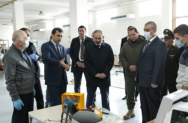 Премьер-министр Армении посетил инженерный город
