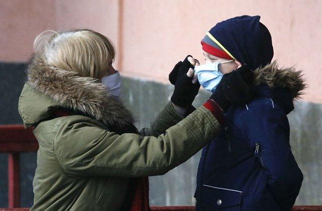 В Украине 163 ребёнка заболели коронавирусом