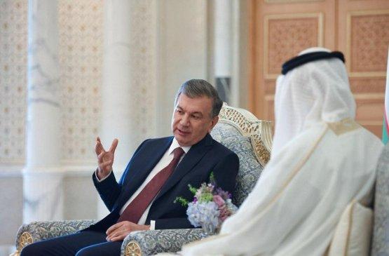 Глава Узбекистана и наследный принц Абу-Даби обсудили актуальные вопросы многоплановых отношений