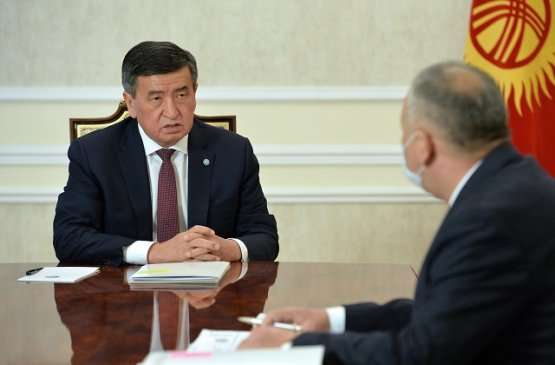 Президент Киргизии провёл встречу с первым вице-премьером