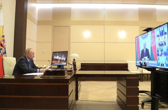 Путин призвал государства ЕАЭС объединить усилия в борьбе с коронавирусом