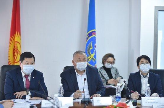 Правительство Киргизии ведёт усиленный контроль по контактным лицам заражённых COVID-19