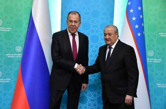 Лавров и Камилов обсудили предстоящий визит Шавката Мирзиёева в Россию