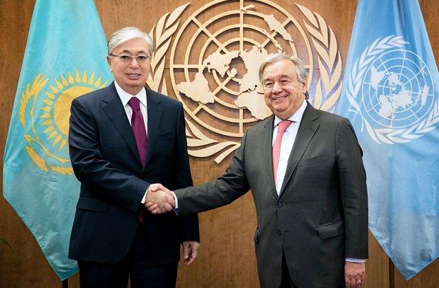 Казахстан стал участником международного обсуждения развития в условиях пандемии и после неё