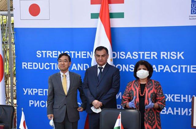 Япония снабдила Таджикистан передовой аварийно-спасательной техникой