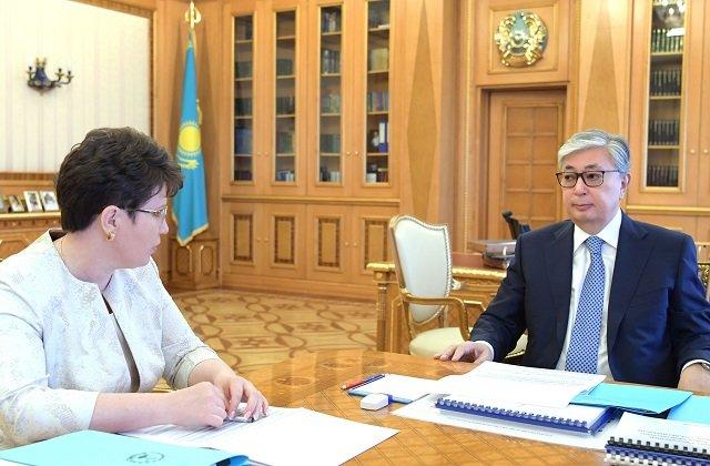 Глава Казахстана ознакомился с расходом антикризисных госсредств