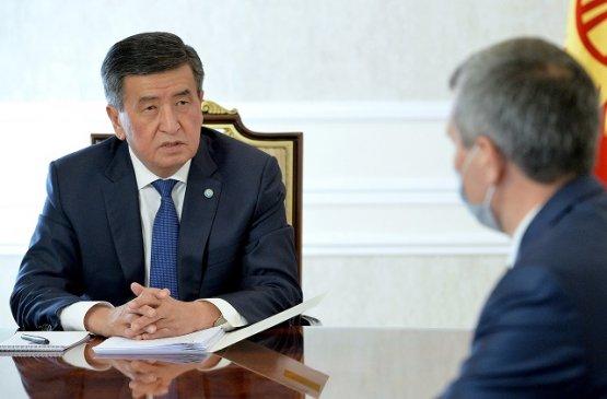 Президент Киргизии обсудил ситуацию с применением оружия на кыргызско-таджикском участке