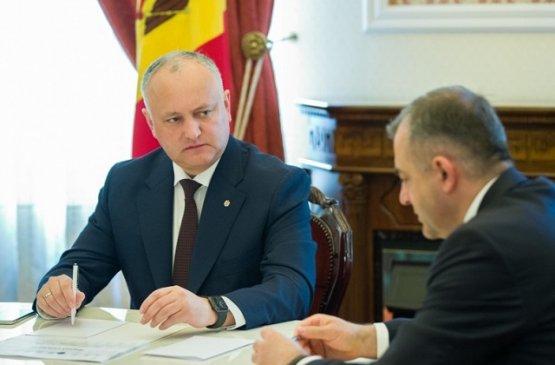 Президент Молдовы предложил провести президентские выборы 1 ноября