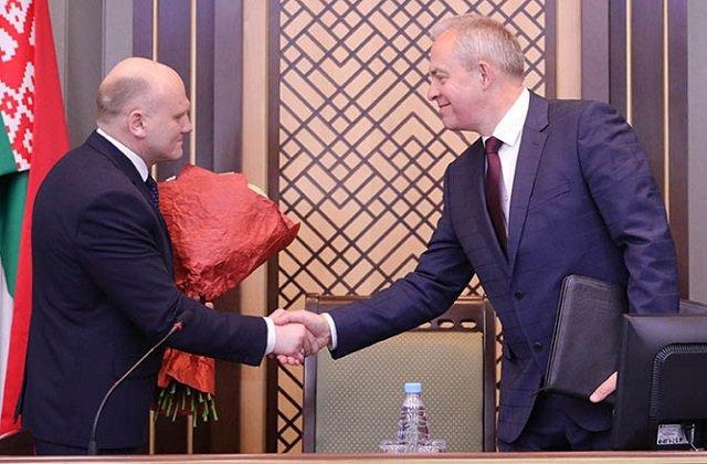 В Белоруссии представлен новый глава комитета государственного контроля