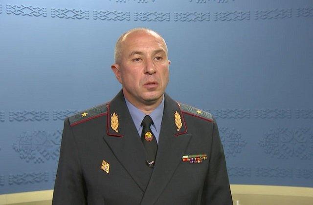 Глава МВД Белоруссии назвал уличные акции хорошо организованными операциями