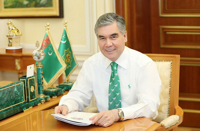 Лидер Туркменистана Бердымухамедов отмечает 63-летие