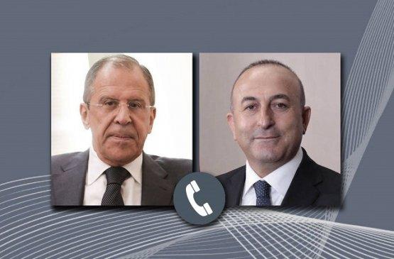 Лавров и Чавушоглу обсудили ситуацию на Ближнем Востоке и в Ливии