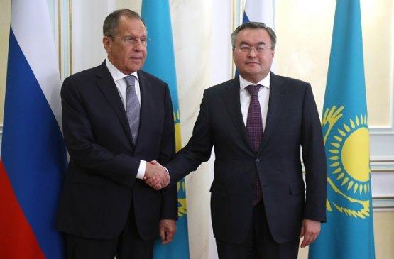Лавров и Тлеуберди обсудили визит Касым-Жомарта Токаева в Москву