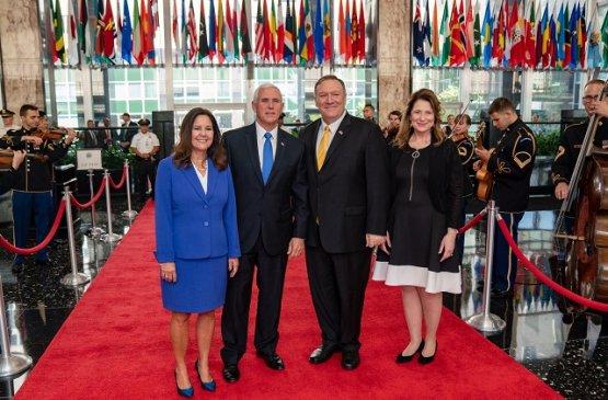 Майкл Помпео похвалил Узбекистан за прогресс в сфере религиозных свобод