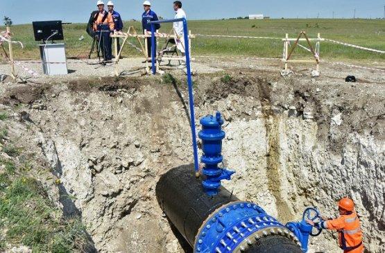 Глава Крыма запустил новый водовод для снабжения Симферополя