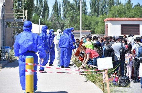 В Киргизии собираются построить палаточный городок для инфицированных ковид-19
