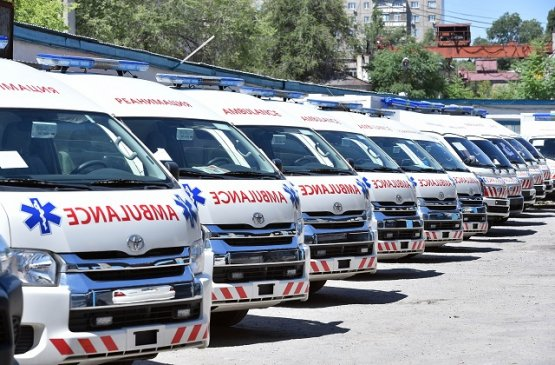 Бишкек получил 15 машин «скорой помощи» из-за острой нехватки мобильных бригад