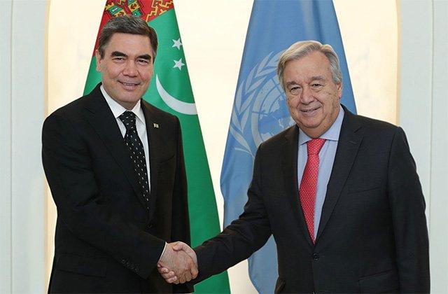 Туркменистан избран заместителем председателя 75-й сессии Генассамблеи ООН