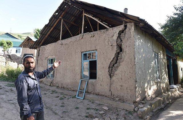 Землетрясение в Таджикистане нанесло ущерб 111 домам