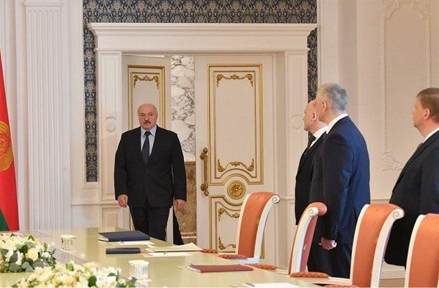 Лукашенко встретился с руководством Национального банка страны