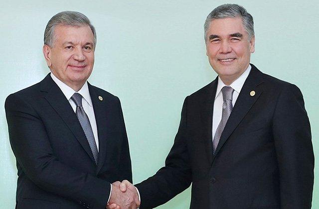Бердымухамедов и Мирзиёев обсудили проблему Арала и пандемии