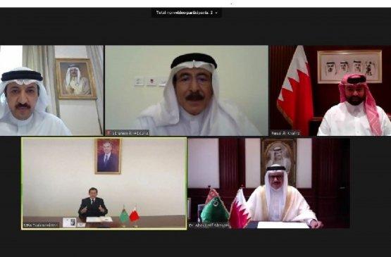 Главы МИД Туркменистана и Бахрейна обсудили двустороннее сотрудничество