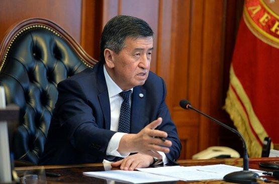 Президент Киргизии поручил организовать дневные стационары в регионах