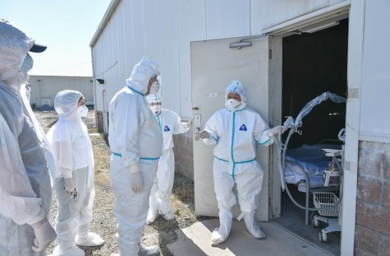 В обсервации «Семетей»  в Киргизии открыли отделение реанимации для коронавирусных тяжелобольных