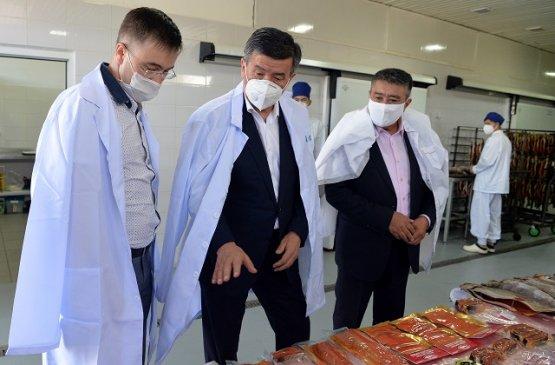 Президент Киргизии пообещал поддерживать предпринимательство в регионах и расширять производство