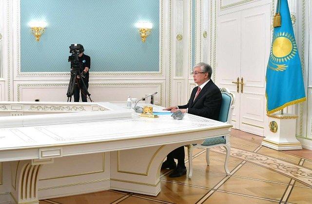 Глава Казахстана выступил на международном правовом форуме