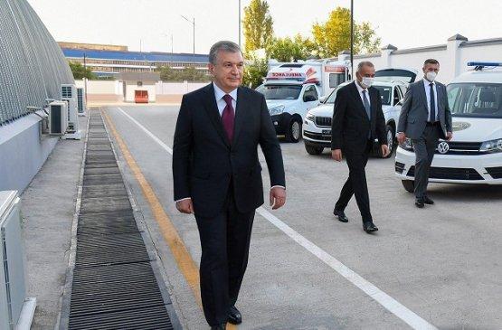 В Узбекистане наладят производство спецмашин