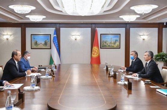 Вице-премьер Киргизии встретился с премьером Узбекистана в Ташкенте