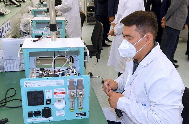 Казахстан обеспечит свои нужды в аппаратах ИВЛ