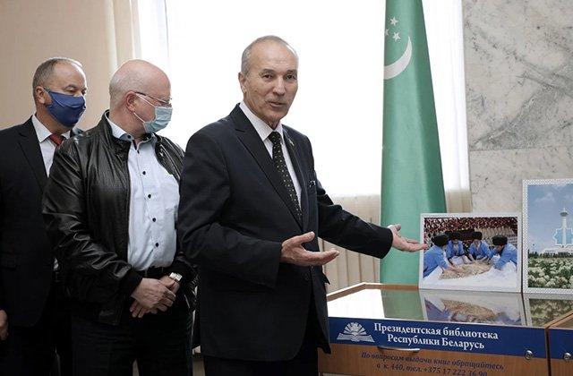 В Минске организовали выставку в честь Дня независимости Туркменистана